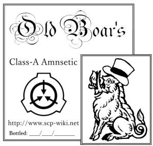 Class-A Amnestic label