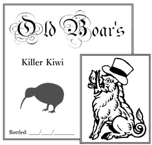 Killer Kiwi label